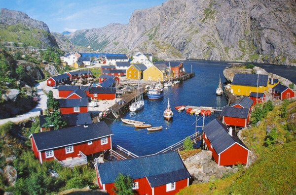Побывать на Лофотенских островах, Норвегия