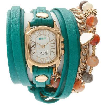 Часы La Mer Collection Paris Heart Charms