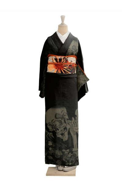 Кимоно с сюжетом любимой гравюры