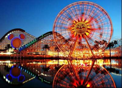 Хочу побывать в Disneyland.