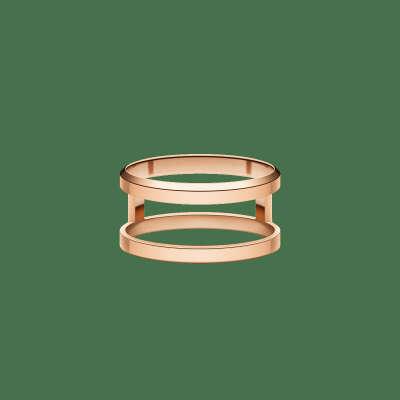 Elan Dual Ring Rose Gold 48