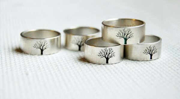 """Кольцо """"Дерево"""""""