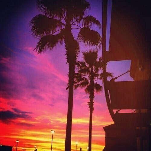 Встречать закаты в Лос- Анджелесе