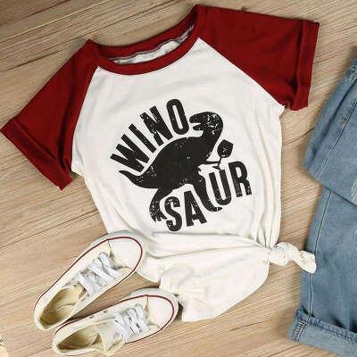футболку winosaur.