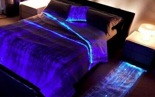 Светящееся постельное белье