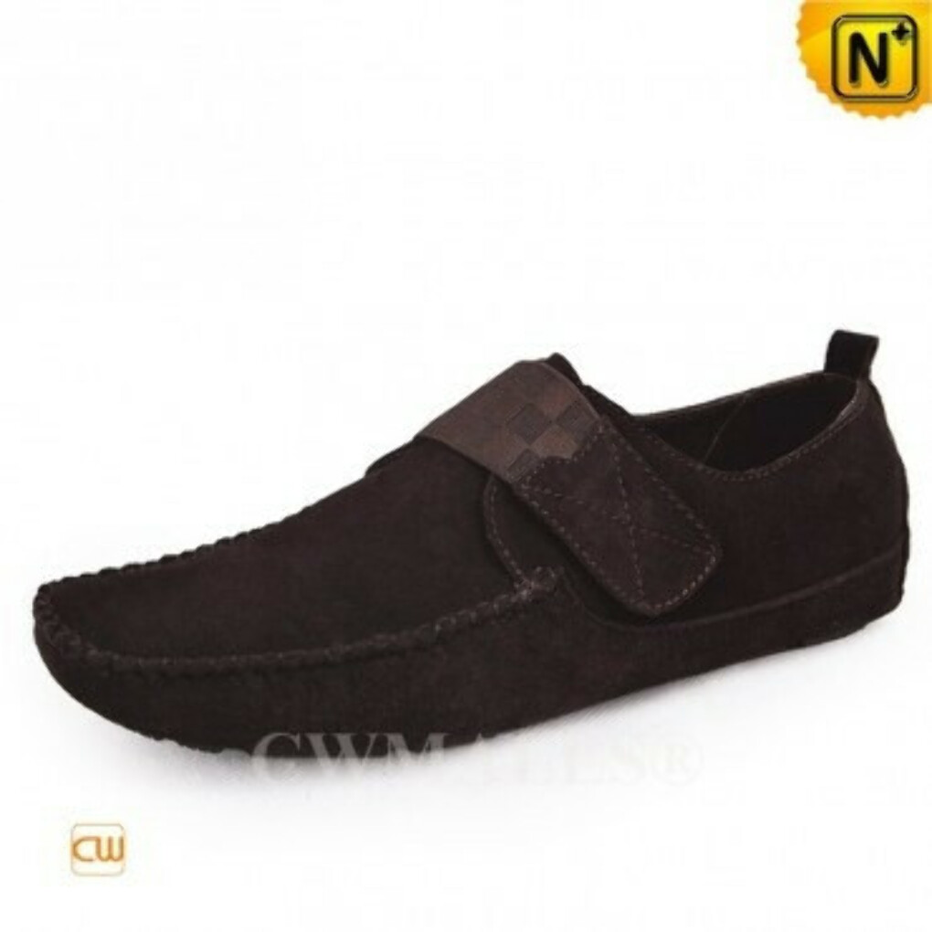 CWMALLS® Designer Suede Slip-on Loafers CW707111