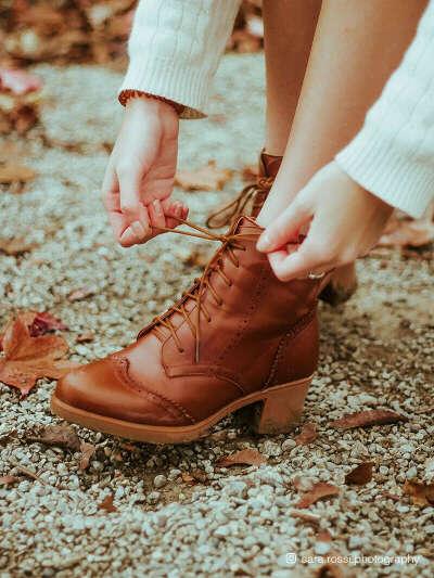 Винтажные ботиночки Ecosusi(или туфельки)