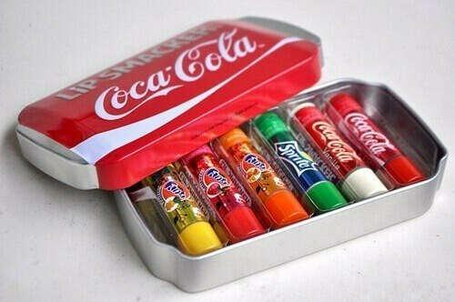 Бальзамы для губ Coca Cola