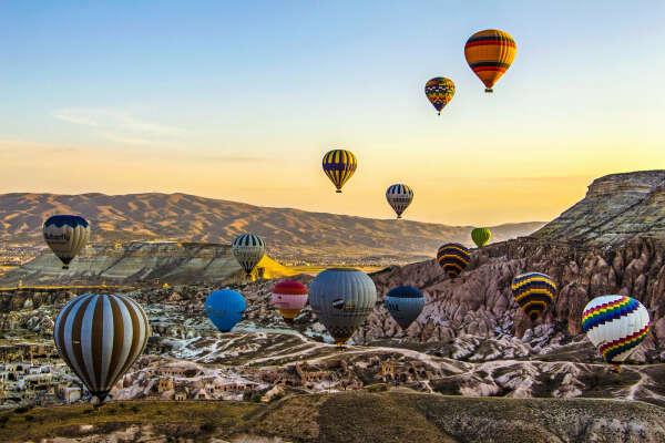 Поездка на фестиваль воздушных шаров в Кападокии