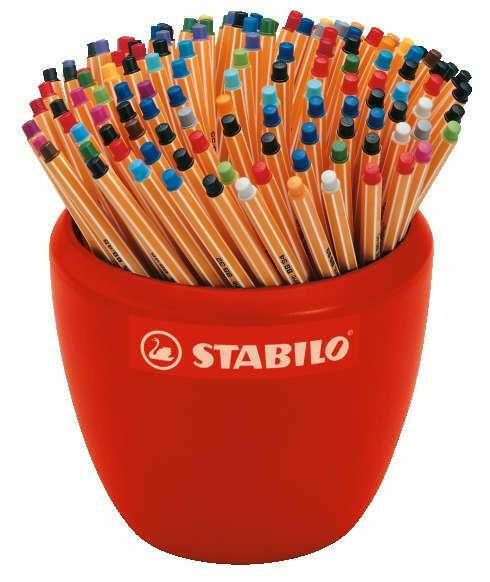 Stabilo 88 капиллярные ручки