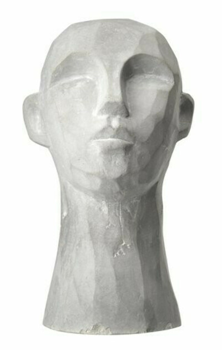 Декор TORRE В15см серый