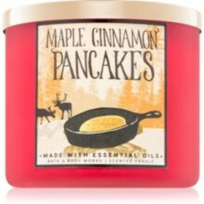 Bath & Body Works Maple Cinnamon Pancakes Scented Candle