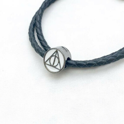 Deathly Hallows Inspired Charm (fit Pandora)