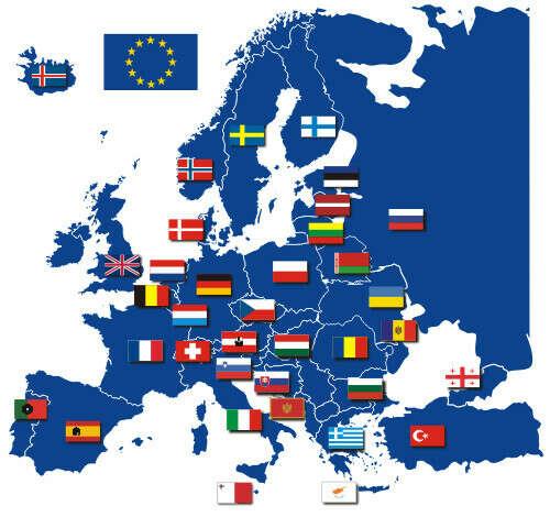 Посетить страны Европы