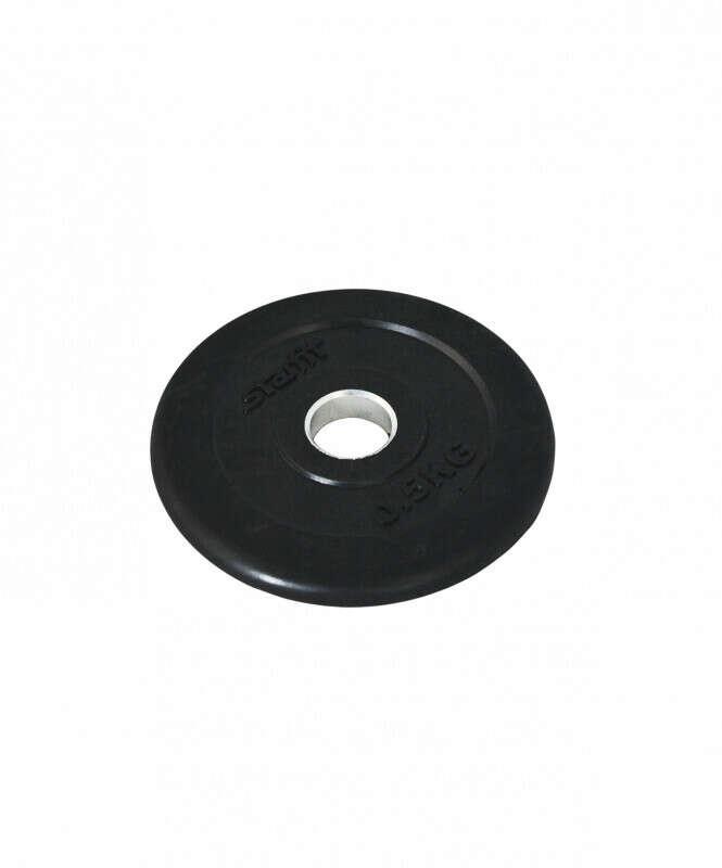 Диск обрезиненный STARFIT 0,5 кг, d=26 мм