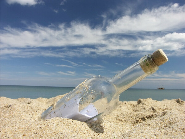 Найти послание в бутылке