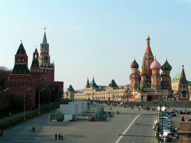 Хочу побывать в Москве
