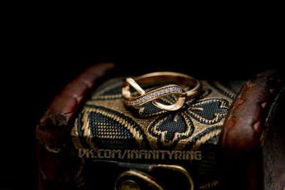 Оле кольцо «Бесконечность»