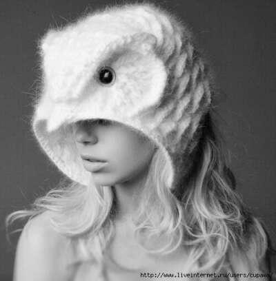 Шапочку-сову от Helen Rodel