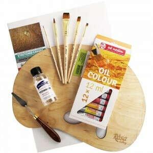 Набор для масляной живописи для начинающих