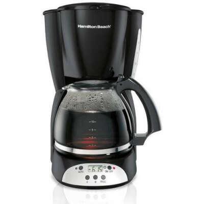 Hamilton Beach 12 Cup Programmable Coffee Maker, Model# 49465R