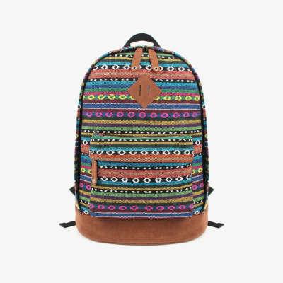 Рюкзак с африканским орнаментом