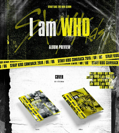 Альбомы Stray Kids — I Am Who