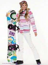 Экипировка для катания на сноуборде