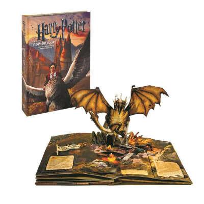«Гарри Поттер» книга-панорама на английском Брюса Фостера, Эндрю Вильямсона - 1990р.