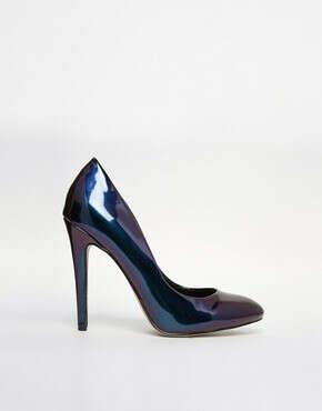 Галографические туфли