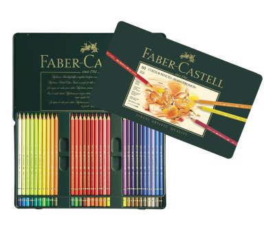 Цветные карандаши Faber-Castell POLYCHROMOS, набор 60 цветов (арт.: 110060) — интернет-магазин Faber-Castell