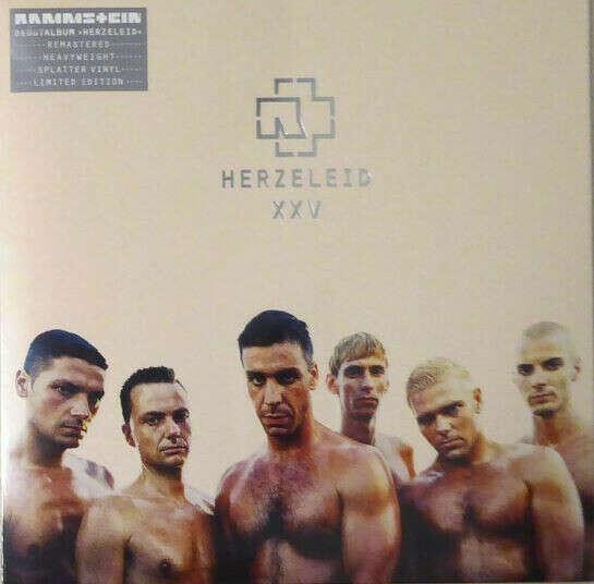 Виниловая пластинка Rammstein - Herzeleid XXV Deluxe