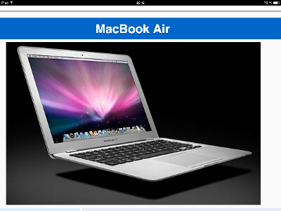 Я сильно хочу macbook air