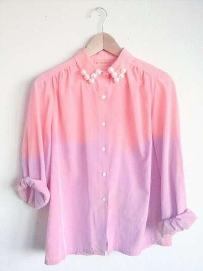 Рубашку омбре