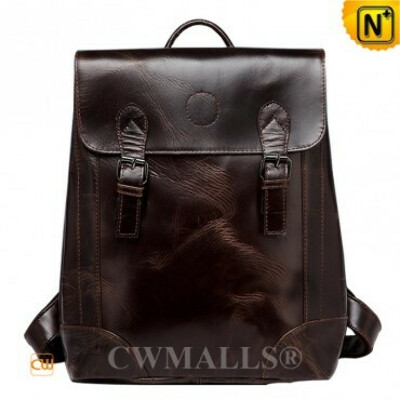 CWMALLS® Mens Leather Vintage Backpack CW907012