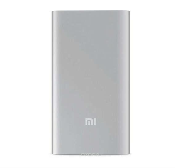 Внешний аккумулятор Xiaomi Mi Powerbank 2, PLM10ZM, 5000 mAh, Silver