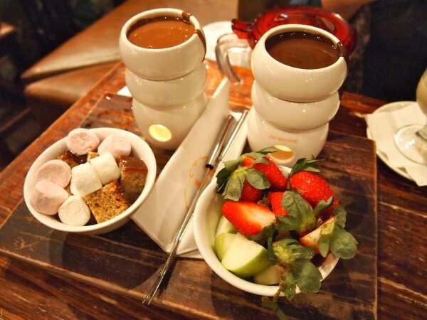 Ужин в шоколадном баре Max Brenner