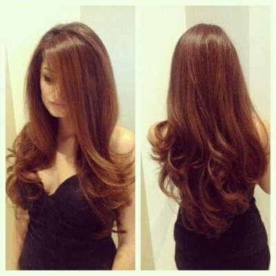Шикарные длинные волосы