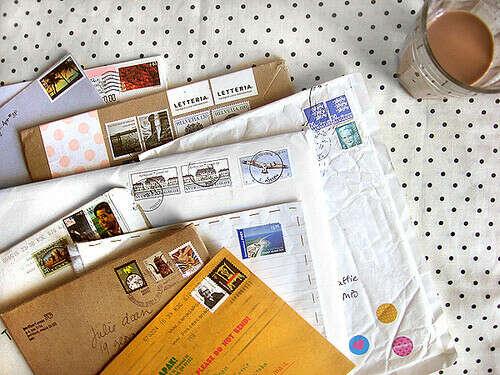 Письма из других стран