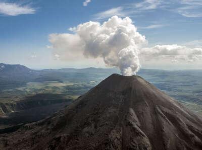 Подняться на вулкан