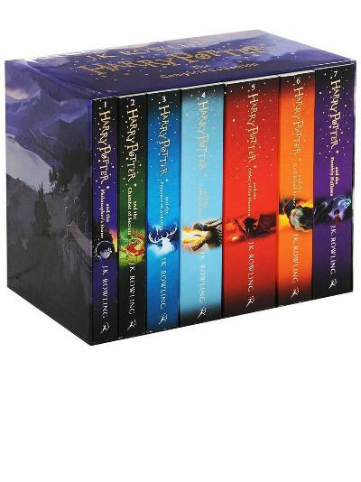Harry Potter in English (Bloomsbury)