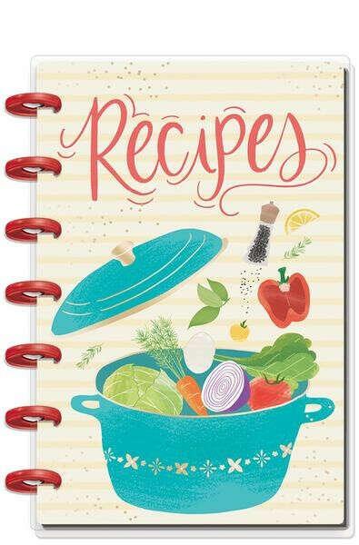 Mini Happy Planner® - Foodie (Recipe Organizer)