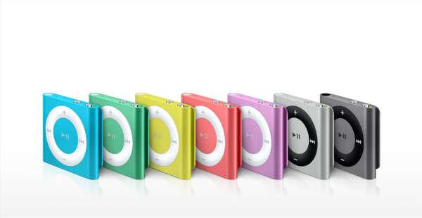 Apple - Яркий iPod shuffle с поддержкой VoiceOver, плейлистов и многого другого.