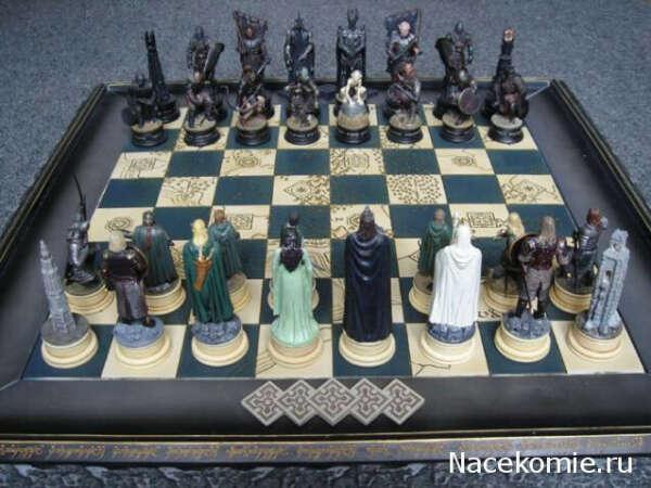 """Доска для шахмат """"Властелин Колец"""""""