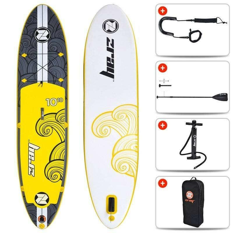 Надувная доска для sup серфинга ZRAY SUP Board Model X2 10.10