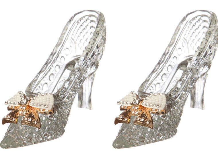 Хочу иметь у себя дома такие декоративные хрустальные туфельки