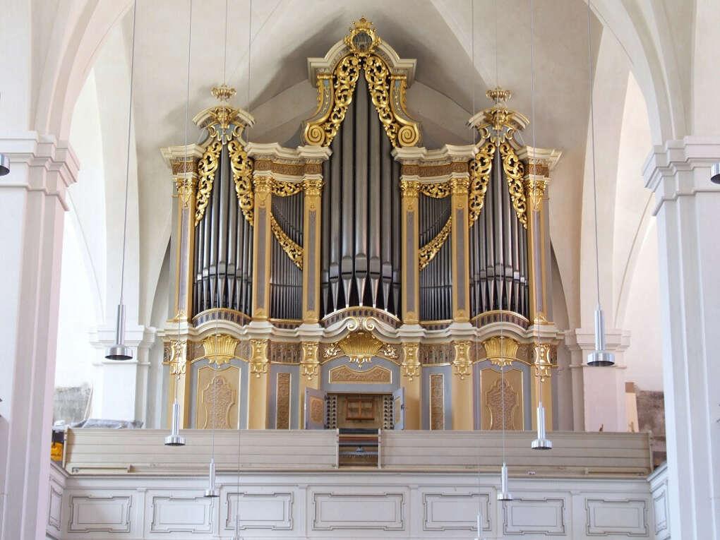 Услышать орган