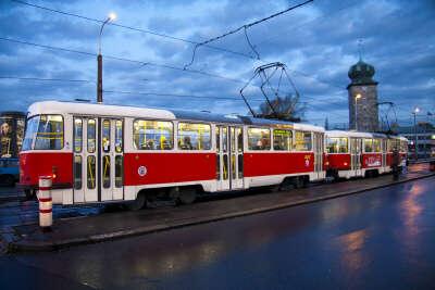 Проехать весь маршрут на трамвае