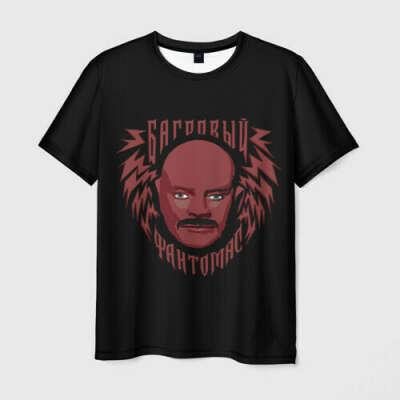 Оригинальная футболка «Багровый Фантомас» от «Внутри Лапенко»