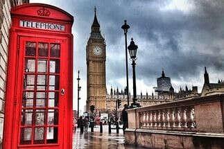 Побывать в Англии)